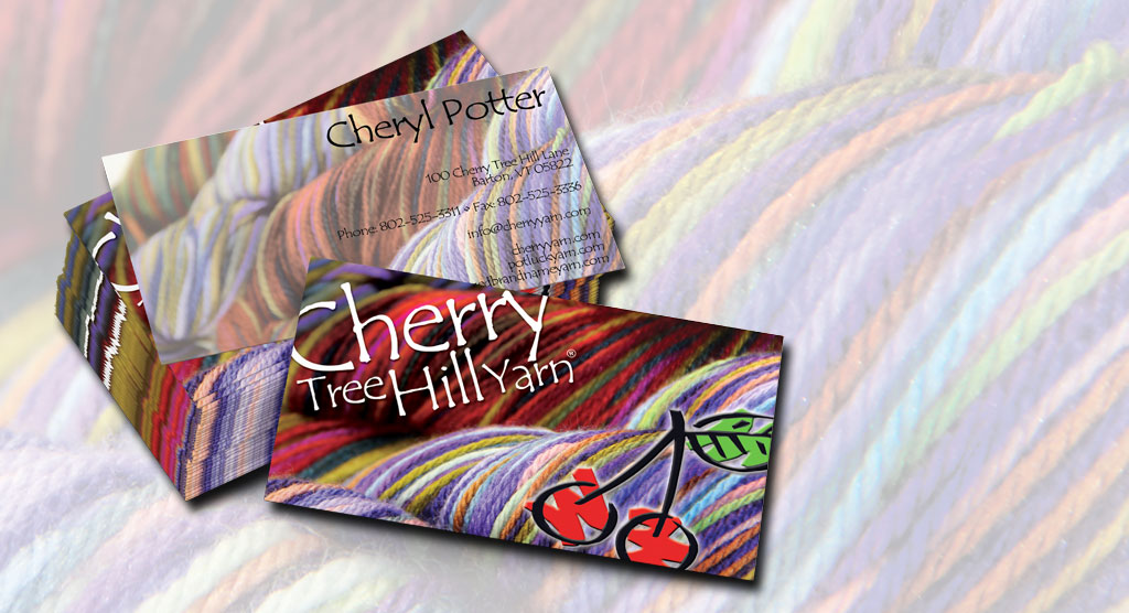 Cherry Tree Hill Yarn Business Cards – LacossDesigns.com