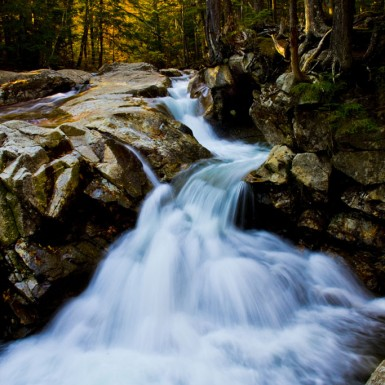 Franconia Flow At Franconia Notch, NH - LacossDesigns.com