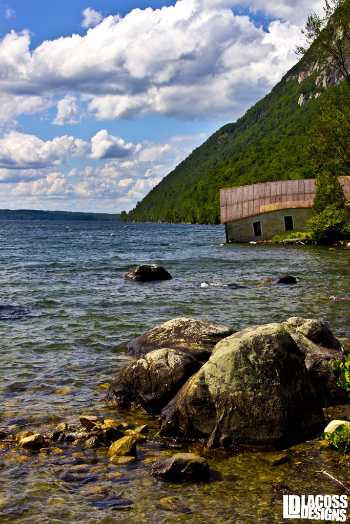 Old Boathouse Willoughby Lake Vermont – LacossDesigns.com