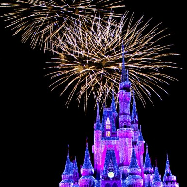 Magic Kingdom Fireworks Walt Disney World - LacossDesigns.com