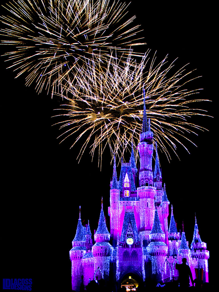 Magic Kingdom Fireworks Walt Disney World – LacossDesigns.com