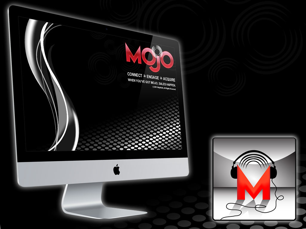 Mojo Selling Solutions Splash Screen and Podcast Logo – LacossDesigns.com