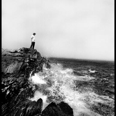Whaleback Rock Peaks Island Maine - LacossDesigns.com