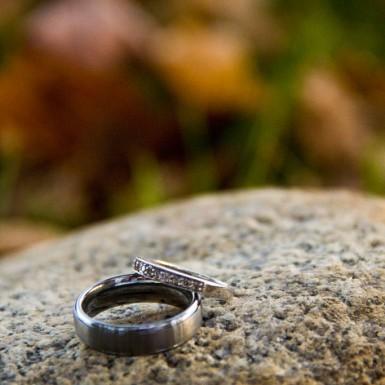 Wedding Rings On Stone – LacossDesigns.com