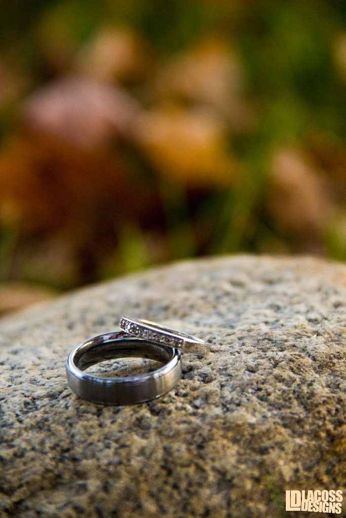 Wedding Rings On Stone – LacossDesigns.com