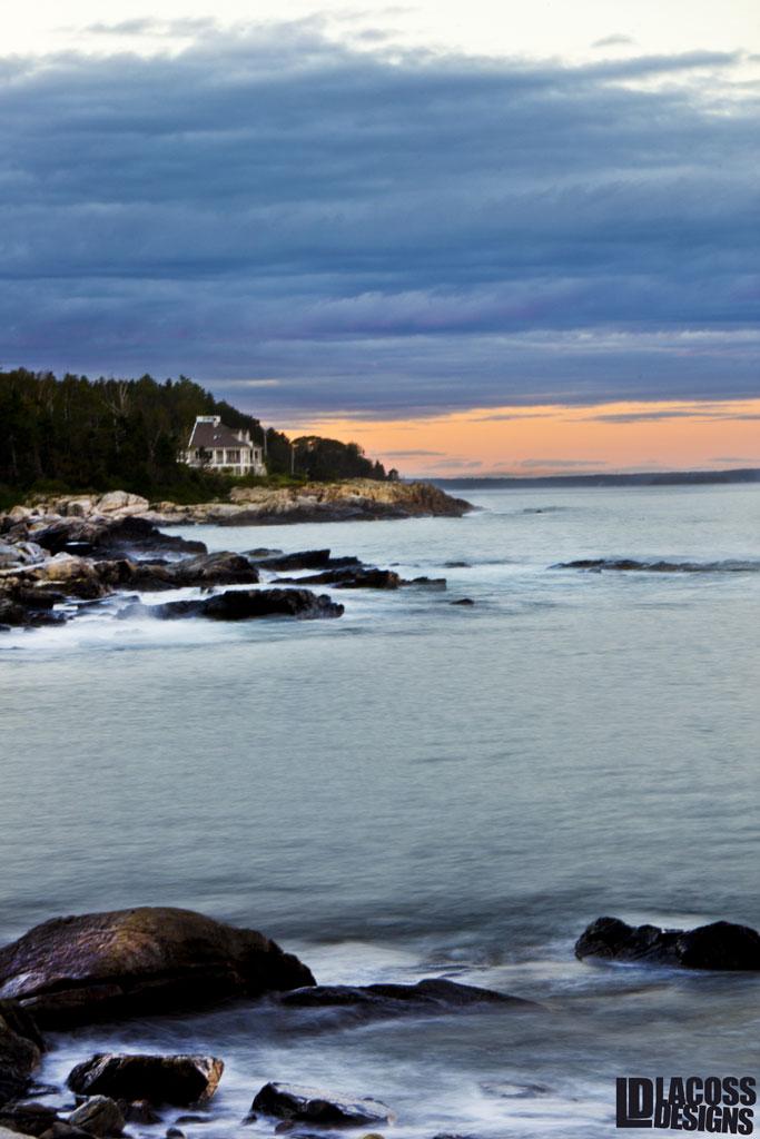 Spar Cove Sunset Peaks Island Maine – LacossDesigns.com