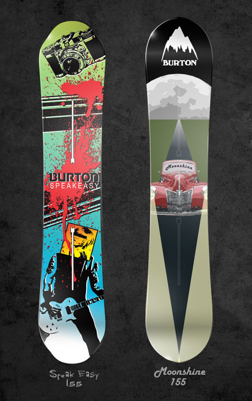 Burton Snowboards Graphics - LacossDesigns.com
